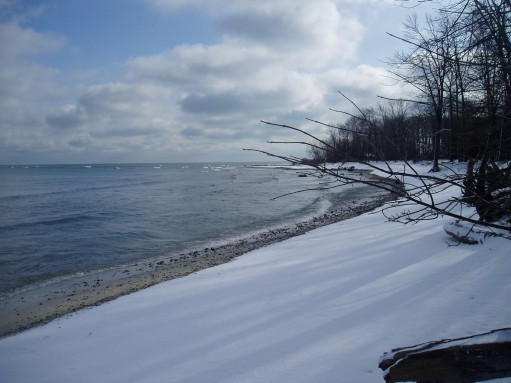 Lake Erie Islands in the Winter