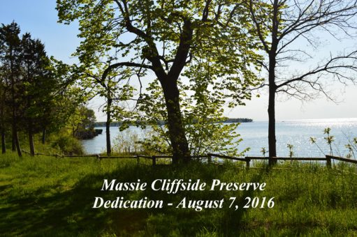 Massie Cliffside Preserve Dedication