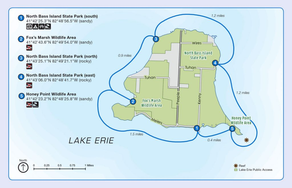 North Bass Water Trail