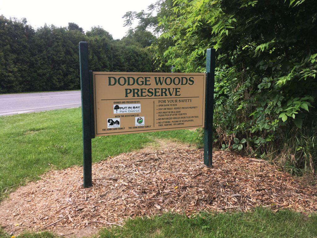 Trail Entrance - Dodge Woods Preserve