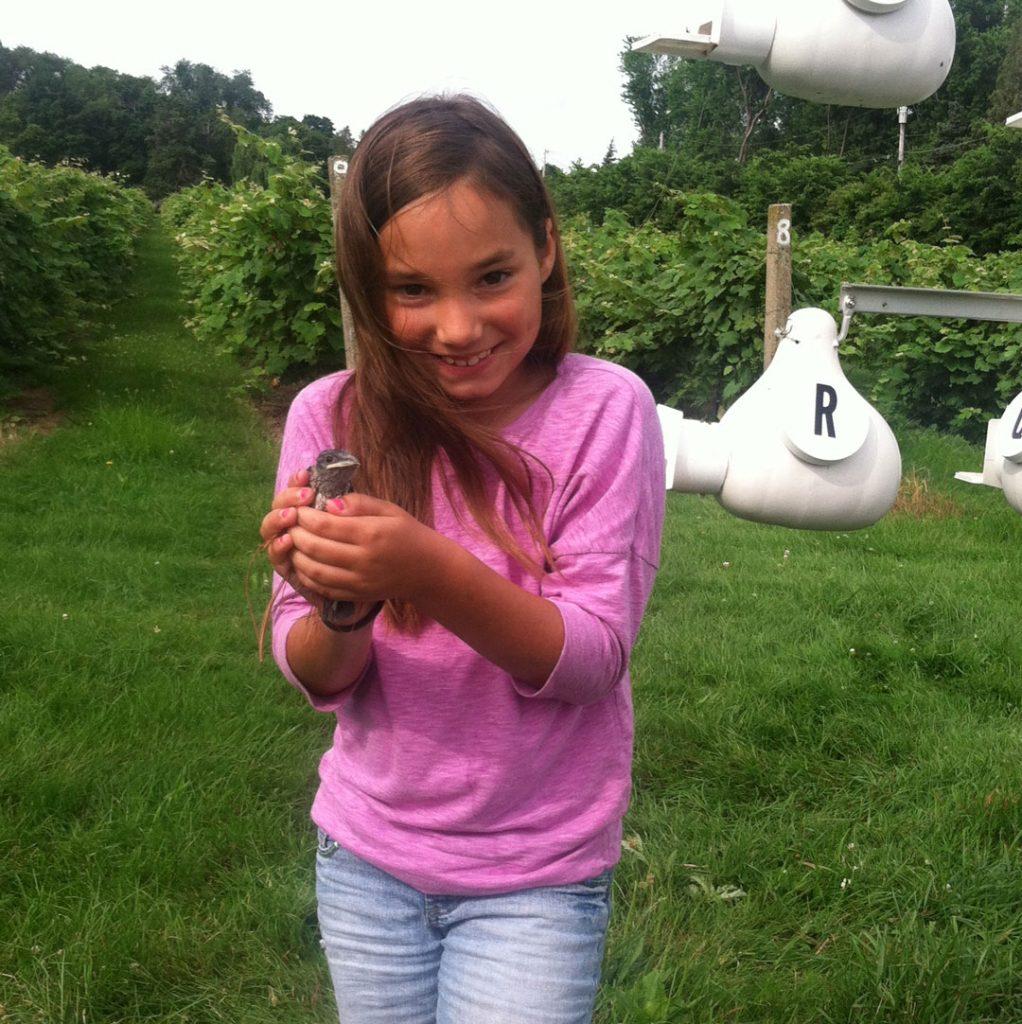 Alice Lentz Bird Banding