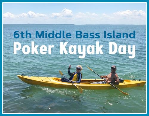 6th Middle Bass Island Poker Kayak Day