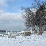 Lake Erie Islands in Winter