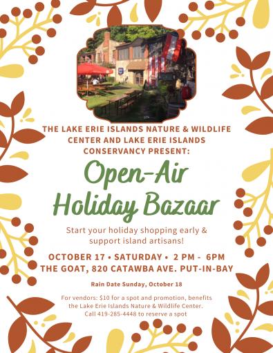Island Holiday Bazaar Saturday   Lake Erie Islands Conservancy